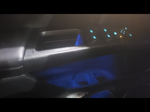 Got the ambient lighting output fixed with forscan