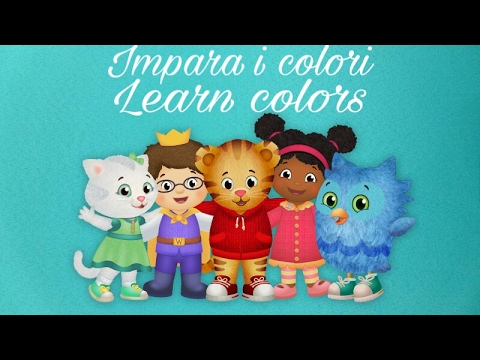 Coloring Book Disegni Da Colorare Impara I Colori Learn Colors