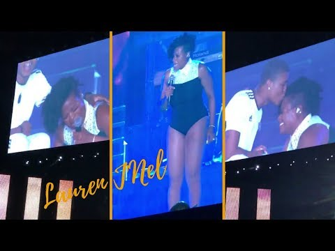 "Fantasia Breaks Down In Tears After Bringing Brother On Stage For ""Lose To Win"" at Essence Fest"