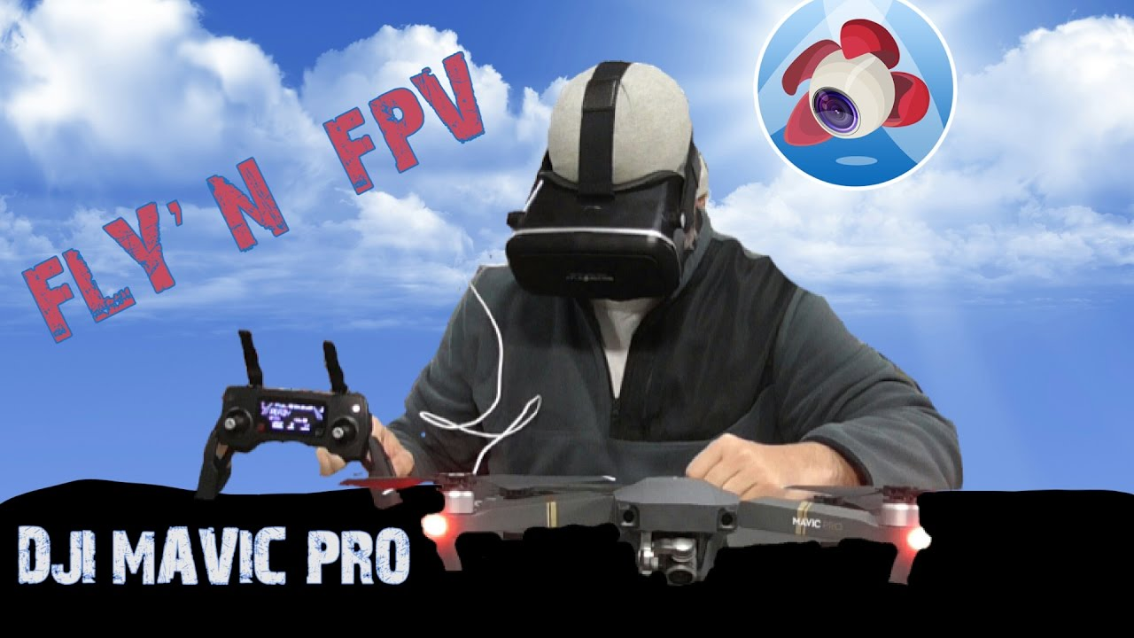 How To Fly Your DJI Mavic Pro With FPV Goggles | Drone Supremacy