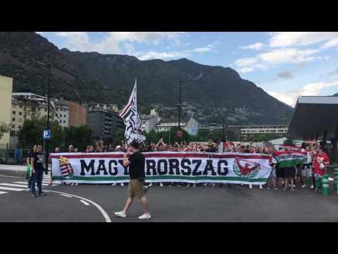 On tour Andorra