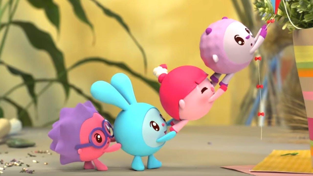 Малышарики - Раскраска для детей - В лесу - YouTube