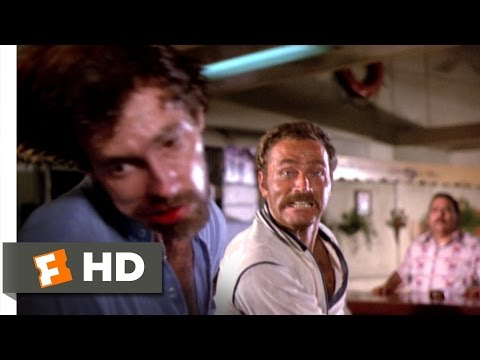 Enter the Ninja (6/13) Movie CLIP - Being Deadly in a Dive Bar (1981) HD