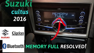 how to clear bluetooth memory on clarion audio