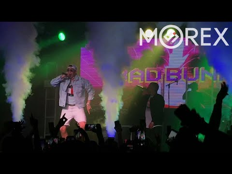 Bad Bunny - Caile / El Amante (Remix) / Me Mata (En Vivo / Live at Far West ✌🏼 2017 - Dallas, TX)