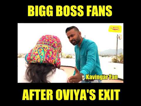 BIG BOSS FANS - AFTER OVIYA'S EXIT - MIRCHI ANAND