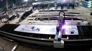 Плазменная резка металла на станке с ЧПУ (Завод НПО