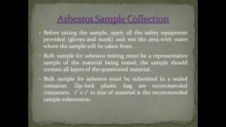 Asbestos Kit Instructions 0501.2013