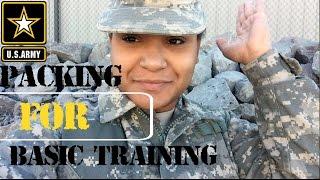 Baixar U.S. Army Basic Training Packing List