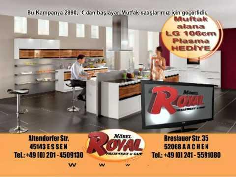 royal m bel mutfak youtube. Black Bedroom Furniture Sets. Home Design Ideas