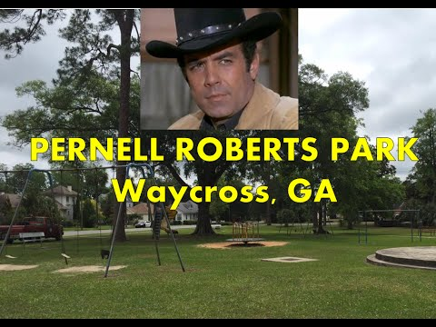 "INVITATION:05/18/2016-Dedication: ""Pernell Roberts Memorial Park"" [Waycross-GA]"