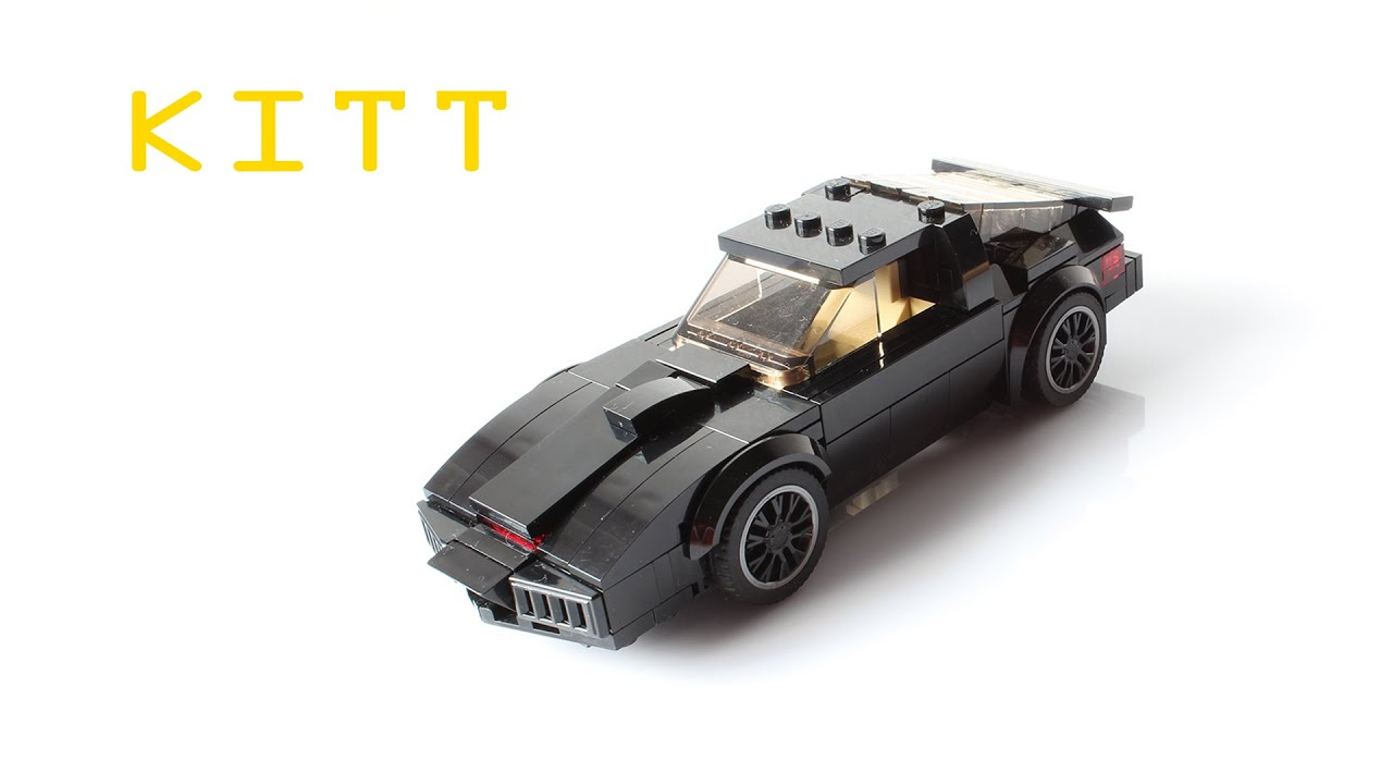 Building Kitt From Knight Rider With Lego Youtube