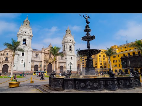 Lima Peru City Sightseeing Tour