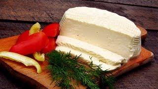Рецепт домашнего сыра - брынза