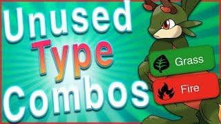 Top 5 Unused Pokémon Type Combinations