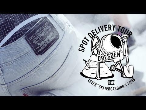 Spot Delivery Tour 2017 | Levi's Skateboarding X Titus | Dresden