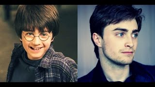 Harry Potter Actors - Then And Now