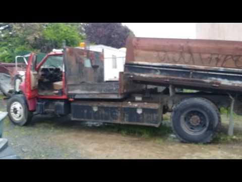89 ford f800 dump truck 55k miles
