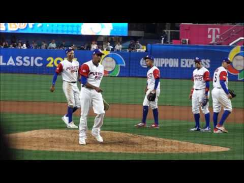 Edwin Diaz, Puerto Rico/Seattle Mariners RHP (2017 World Baseball Classic)