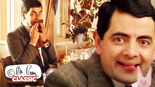 Eating At A BUFFET The Bean Way!   Mr Bean Funny Clips   Classic Mr Bean