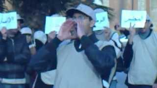 01.02.2012 وقفة أمام المجلس الإستشاري لحقوق الإنسان.MP4