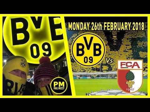 Borussia dortmund v fc augsburg - bundesliga highlights 26/02/2018