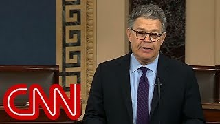 Al Franken says he will resign from the Senate