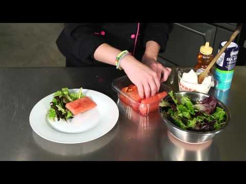 Watermelon, Tomato & Ricotta Salad : Salad Recipes