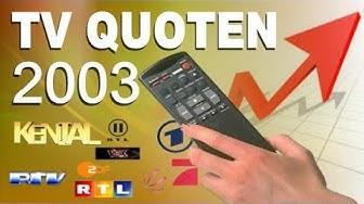 Einschaltquoten  2003 bis 2004 Gfk Mediadaten (RTL,RTL2,Pro7,ZDF,Sat.1,Kabel1,Vox)