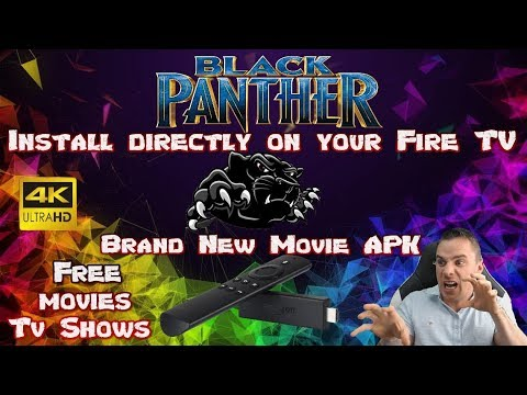Black Panther✔ Brand new Movie Tv App🎯 Install directly on your fire tv  #Smartphone #Android