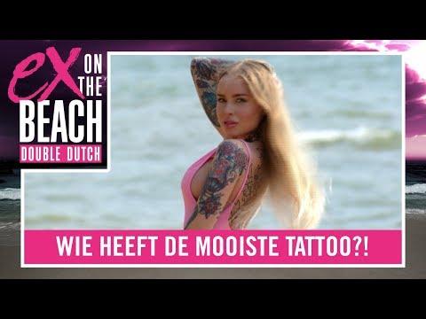 JAMECIA: 'Zijn TATTOO'S zijn niet wat ze MOETEN ZIJN' | Ex on the Beach: Double Dutch - Compilaties