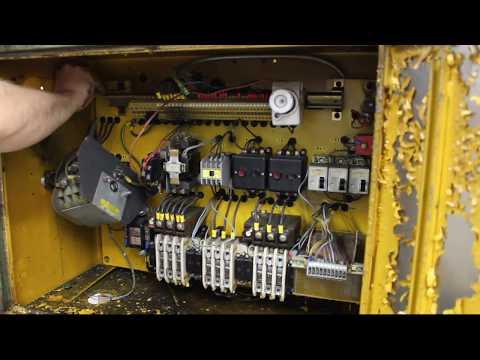 VDF lathe restoration - electric reverse engineering