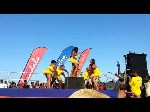 Jamaica Observer Dancers at Sandals All That's Good Funday 2013