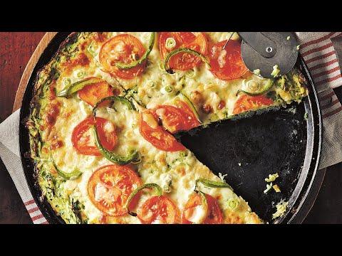 шок !!! рецепт !!!! пицца на сковороде из кабачка за 5 минут !!!