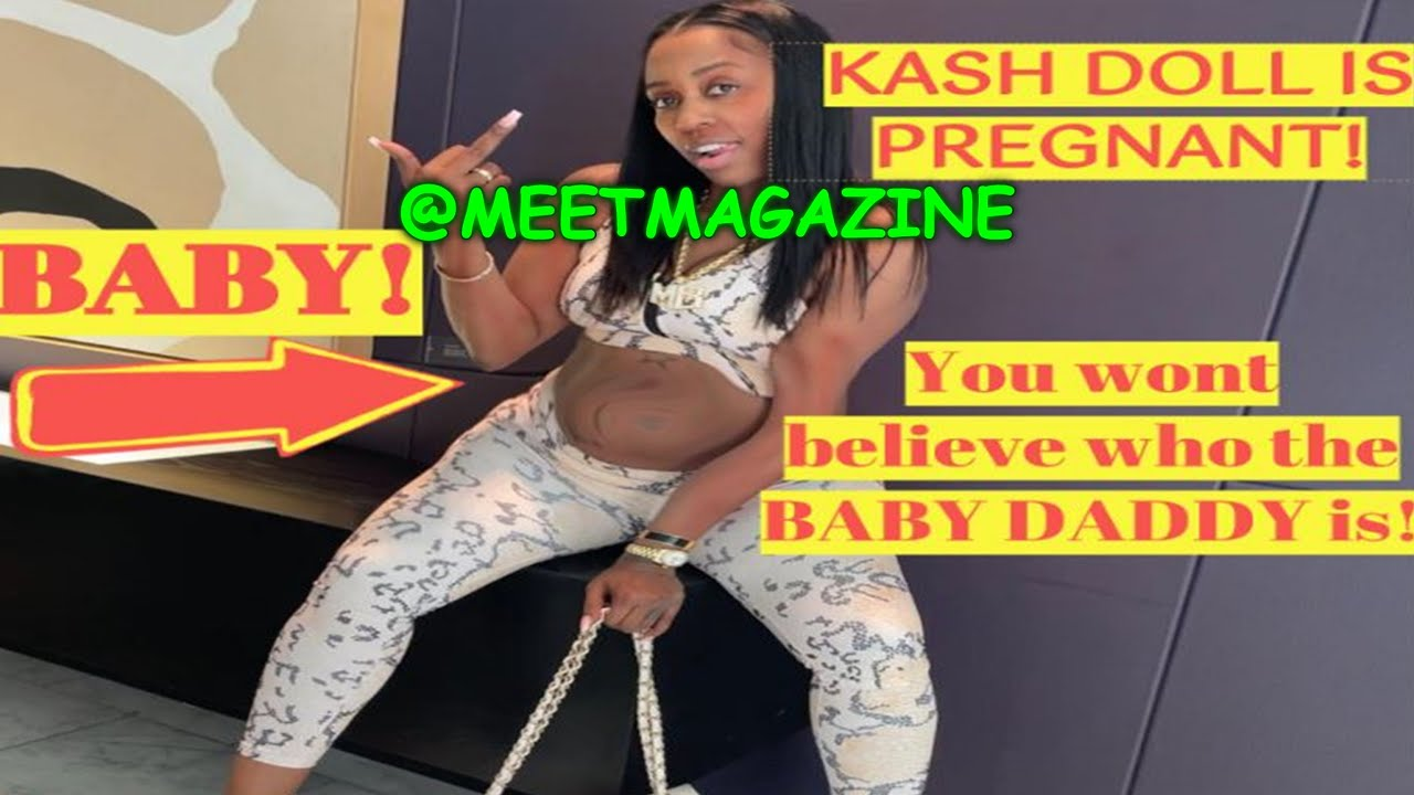 Kash Doll is PREGNANT! Baby daddy theory! #KashDoll #NewArrivals #Celebritybaby