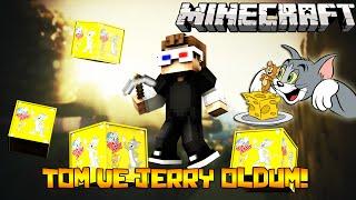 TOM VE JERRY OLDUM! - Minecraft TOM VE JERRY ŞANS BLOKLARI!