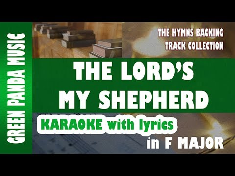 The Lord's my shepherd - Karaoke/Backing Track (Crimond Melody) from The HBTC
