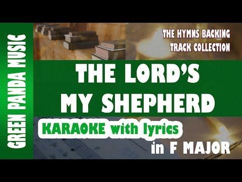 The Lord's my shepherd - Hymns Karaoke with lyrics (Crimond Melody) - Psalm 23 - Scottish Psalter