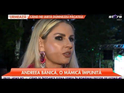 Andreea Bănică, o mămică împlinită. Cum reușește vedeta să se împartă între familie și carieră