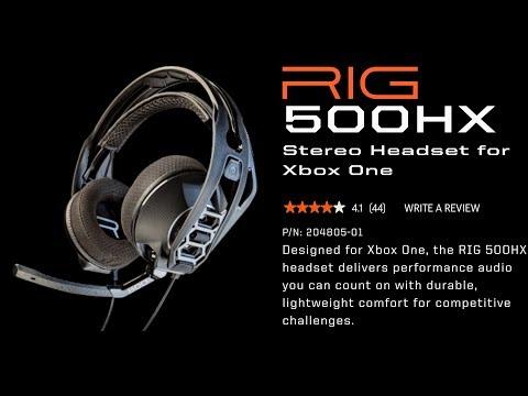 Plantronics Rig 500 pro HX review