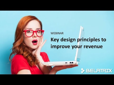 WEBINAR: Key design principles to improve your revenue