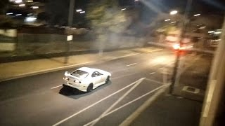 Toyota Supra (JZA80) Meets Police Car