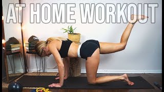 HOW I STAY TONED - MY AT HOME WORKOUT ROUTINE | Fitness Motivation