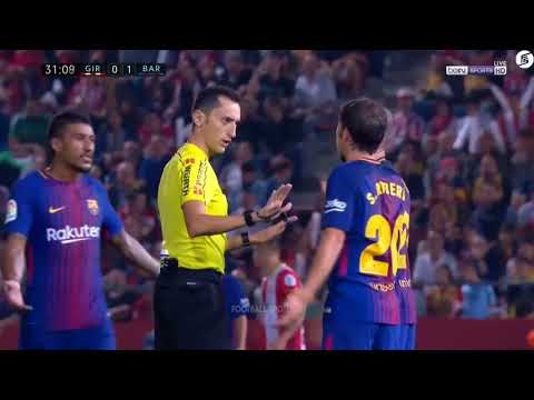 Girona vs Barcelona 0-3   Highlights & Goals   23 September 2017