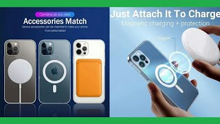 iPhone 13 Pro Max, 13 Pro, 13 Mini Card Holder Magsafe Magnetic Wireless Charging Case