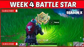 Fortnite Season 10 Week 4 Loading Screen Secret Battlestar/Banner Location GUIDE! (Junk Storm)