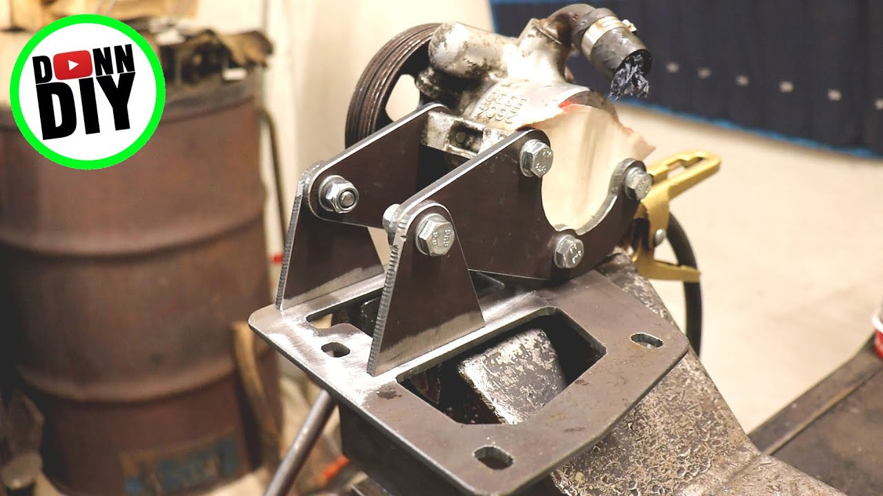 Hydraulic Pump Mounts - 4x4 Off-Road UTV Build Ep.20