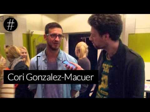 mit Cori GonzalezMacuer auf der Berlinale 2014