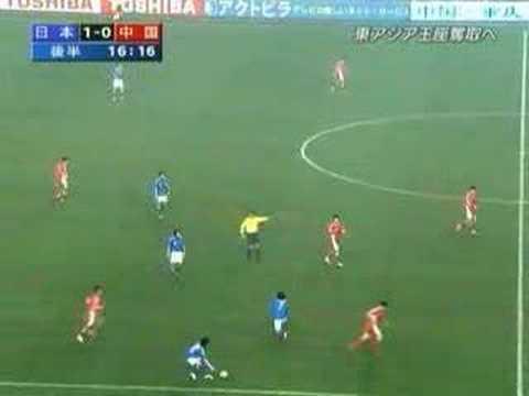 【サッカー】日本vs中国080220 中国のラフプレー集【高画質】
