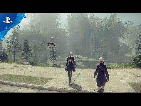 NieR: Automata - Exploring Earth's Distant Future Gameplay Video   PS4